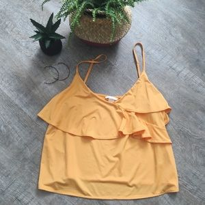 H&M Yellow Camisole size Large